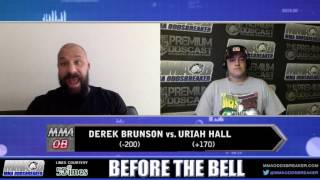 Before The Bell: UFC Hidalgo with Frank Trigg & Nick Kalikas