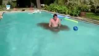 Swimming Pool. Понос в бассейне.Diarrhea in the pool.Shit.