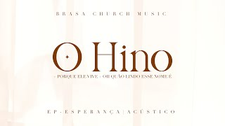 O Hino + Porque Ele Vive + Oh Quão Lindo Esse Nome É (Lyric Video)   EP Esperança   Giselle Knevitz