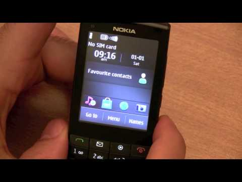Nokia X3 - 02 Touch Type Quick Review