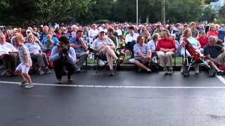 Kentucky Army Band plays for patriots