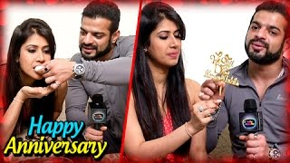 Karan Patel And Ankita Bhargava Anniversary SPECIAL   Exclusive Interview    TellyMasala