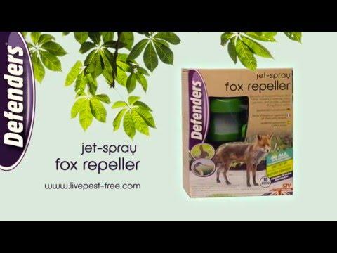 The Defenders Jet Spray Fox Repeller