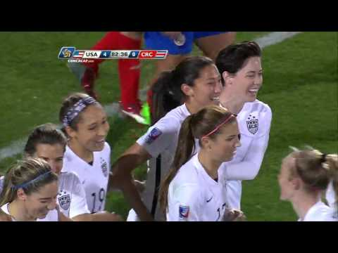 Goal USA - No. 12 Christen PRESS @ChristenPress   @ussoccer_wnt @Fedefutbol_CR #CWOQ2016