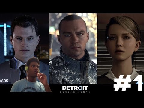 DETROIT BECOME HUMAN WALKTHROUGH PART 1. THIS GAME IS TOO REAL!!!!