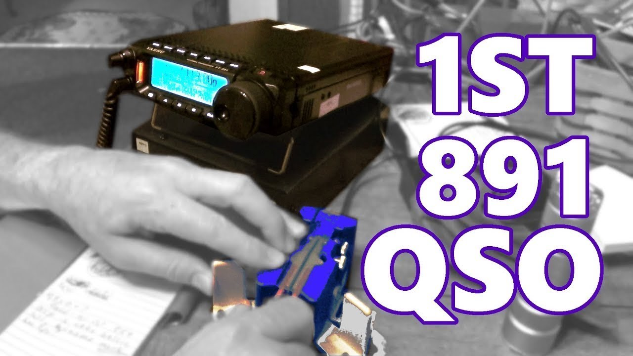 Yaesu Ft 891 First Time Use Cw Qso I Love This Radio Youtube
