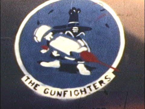 "Vietnam War 1968 DaNang 366 FMS Home Movies USAF 366th TFW ""Gunfighters"""