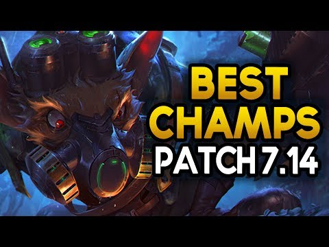 NEW Best Champions in 7.14 to carry with for EVERY Role (League of Legends)