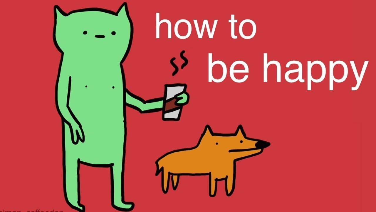Если мне Нравится Всякая Хрень | How To Be Happy (Even If Your Life SUCKS)