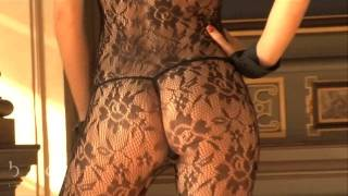 Repeat youtube video Lace Body Stocking Is So Hot