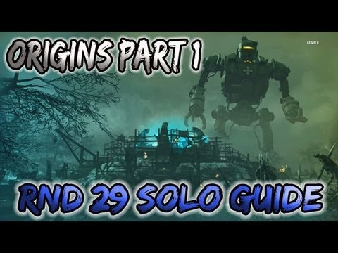 Black ops 2 zombies origins solo guide rnd 29 part 1 - Black ops 2 origins walkthrough ...