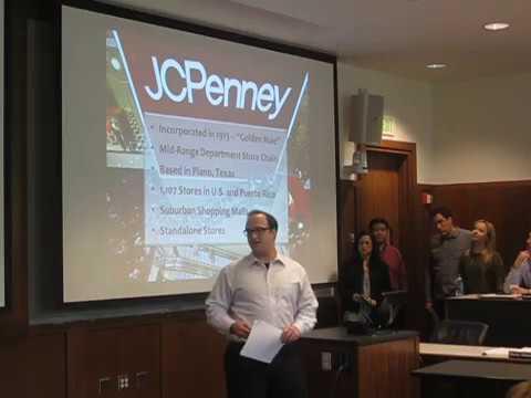 UW EMBA Red Team Presentation - JCP's Marketing Flop