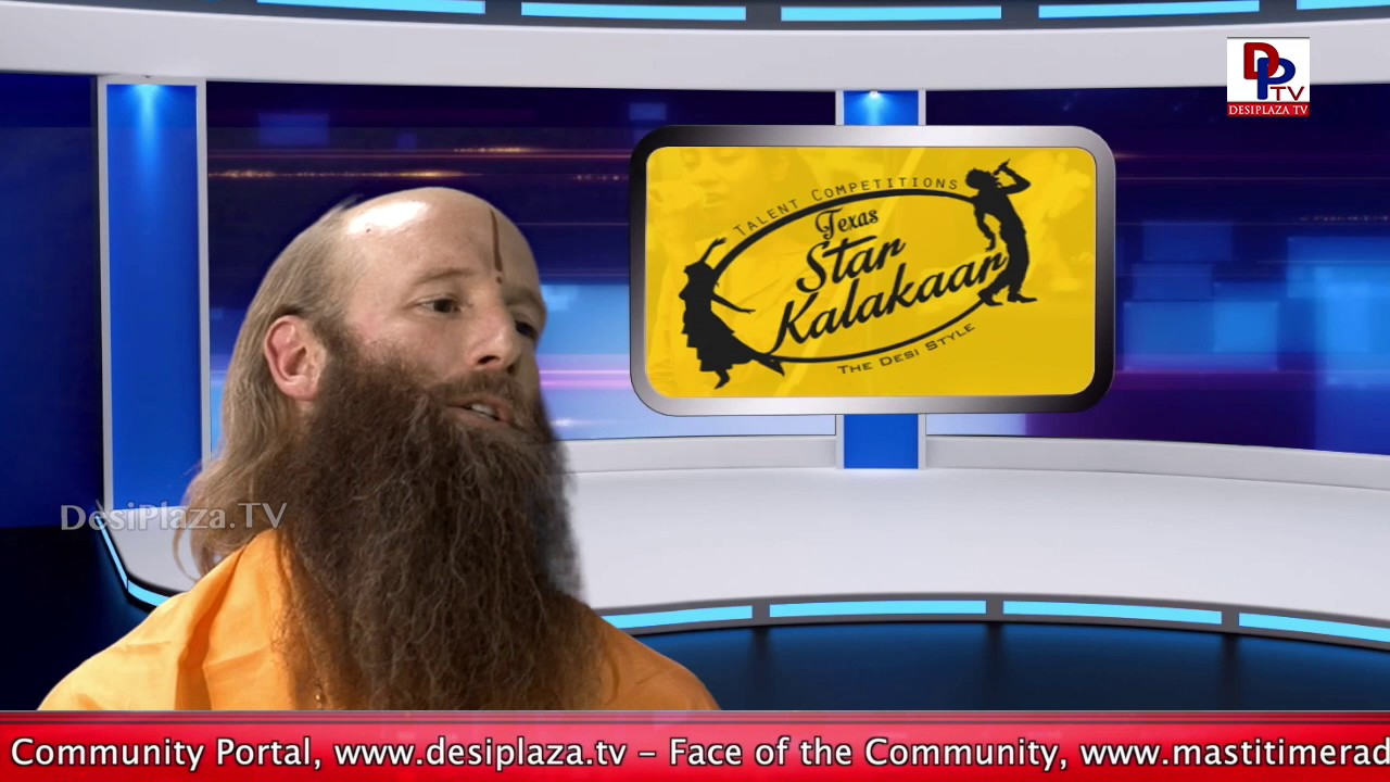Part 2 - Face to Face Interview with Swami Nikhilanand || Desiplaza || Dallas