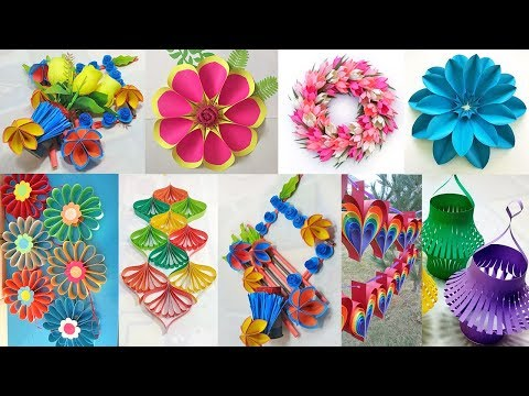 10 DIY ROOM DECOR 2019!!! DIY Paper Craft Room Decor | DIY Projects Idea