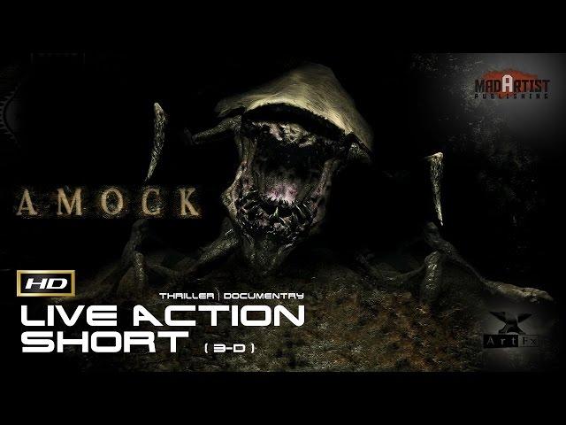 AMOCK | 3D VFX Live action - Horrifyingly Cute little monsters caught on tape (ArtFx)