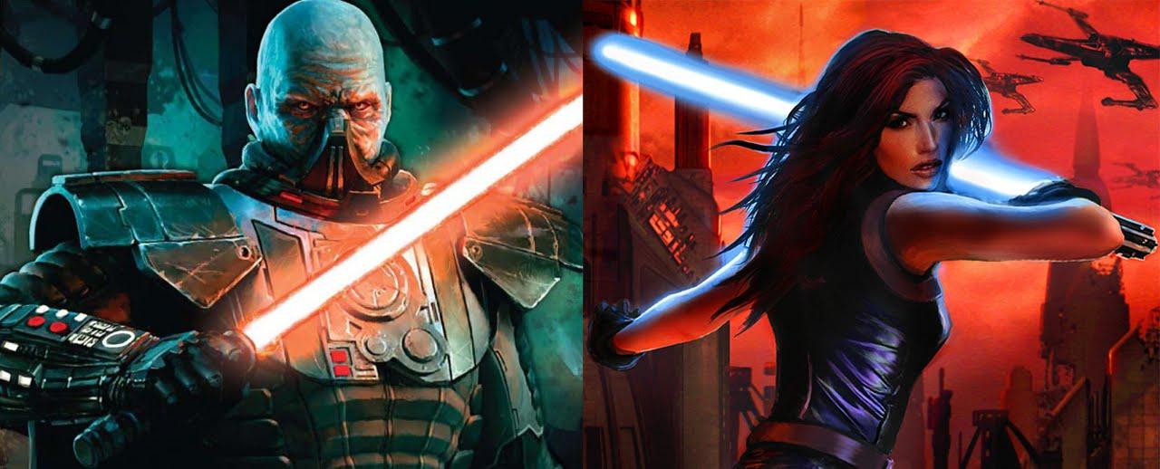 Versus Series Darth Malgus Vs Mara Jade Skywalker Youtube