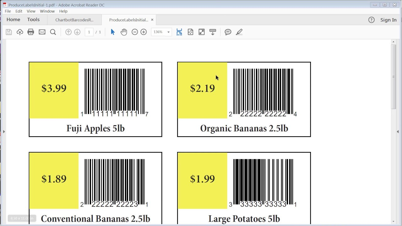 How to InDesign Data Merge Barcodes in 1 Step