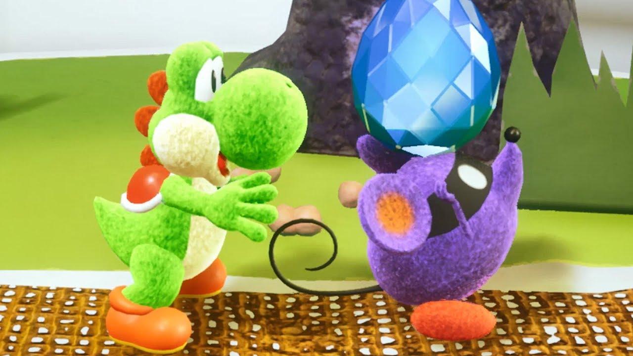 Yoshi crafted world walkthrough