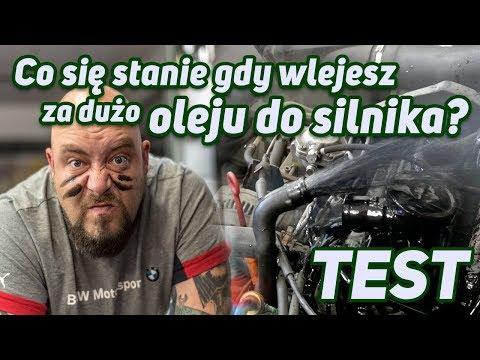 Co się stanie gdy wlejesz za dużo oleju do silnika? TEST!!!