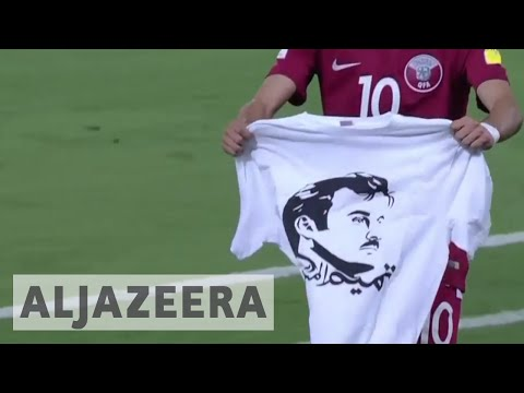 Qatar football team faces FIFA sanction over Emir tshirt
