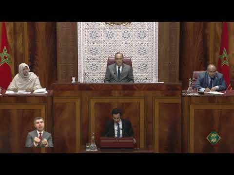 جواب السيد وزير الاقتصاد والمالية وإصلاح الإدارة والتصويت على الجزء الأول من مشروع قانون المالية 2020