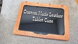 Tablet Case - Leather Case For Tablet Or Ipad - Custom Leather - Leather Case