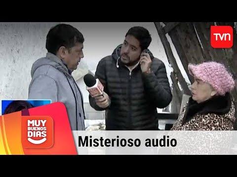 El misterioso audio que se escucha en pleno despacho sobre profesor asesinado