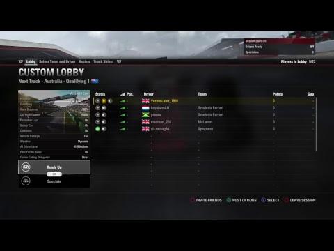 Racestation.net - F1 2017 - F2 League - Australia