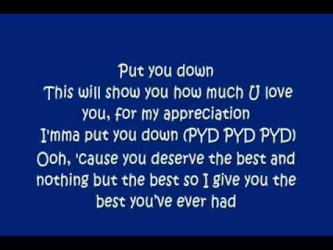 Justin Bieber PYD Lyrics