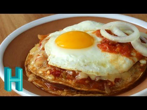 How to Make Huevos Rancheros Especial Recipe | Hilah Cooking