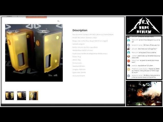 VICOMTE BF par DIXON BOX MOD [REPLAY]
