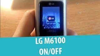 LG M6100 Shutdown and Startup