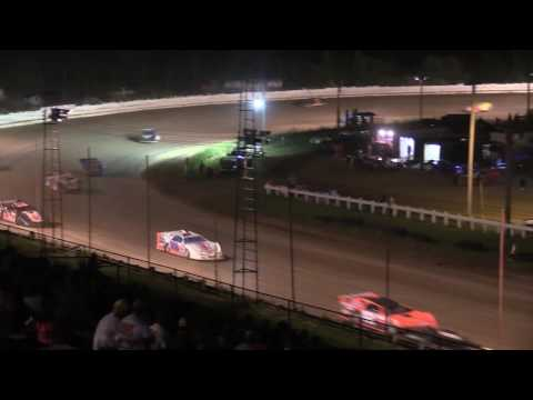 Pittsburgh's Pennsylvania Motor Speedway RUSH Crate Late Model Feature 6-17-17