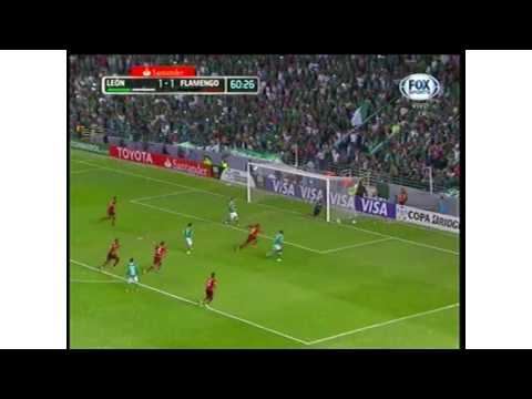 LEON 2 vs 1 FLAMENGO COPA LIBERTADORES 12/02/2014 PRIME  Copa Libertadore