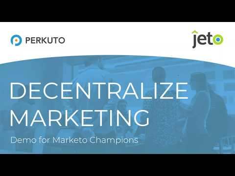 2018.12.06 - Exclusive Jeto Demo for Marketo Champions