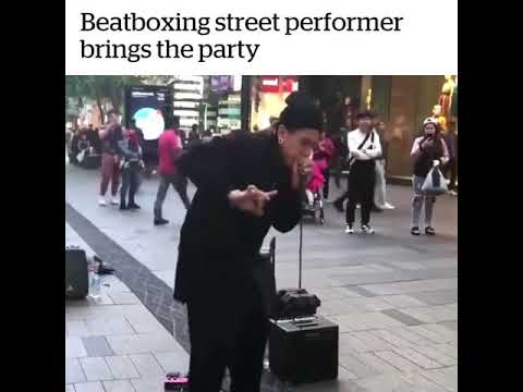 UNBELIEVABLE BEATBOX! Street Performer bring the PARTY