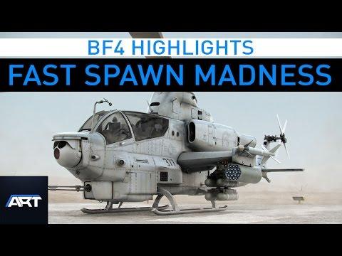 Shanghai Fast Spawn | BF4 Highlights #9