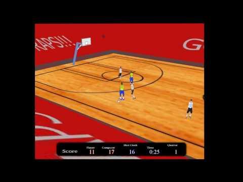 3D Basketball Flash Game