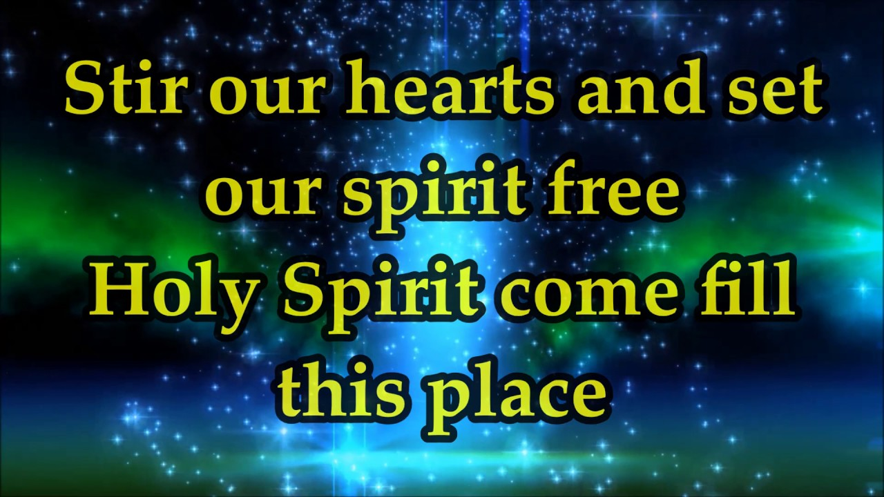 CeCe Winans - Holy Spirit (Come Fill This Place) - Lyrics