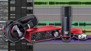 Recording with the Focusrite Scarlett 2i2 Studio Bundle - Warren Huart: Produce Like A Pro