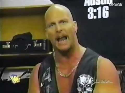 stone cold backstage promo march 17 1997 youtube