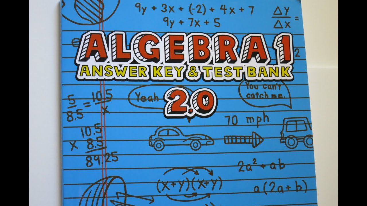 worksheet Glencoe Mcgraw Hill Algebra 1 Answers Worksheets ch 5 teaching textbooks algebra 1 v2 0 chapter test bank answers explained youtube