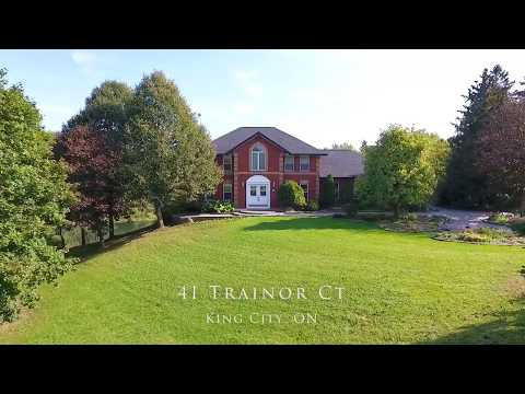41 Trainor Ct, King City, ON - Real Estate Drone Video