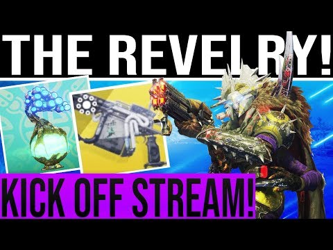 🔴LIVE! Destiny 2 THE REVELRY! SCUF Giveaway, Arbalest Exotic Quest, Verdant Forest, New Loot