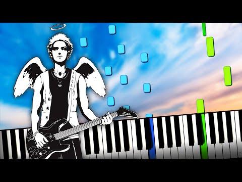 Люмен, Би 2 и Агата Кристи - А мы не ангелы, парень (Алексей Понамарёв)  на пианино (ноты и Midi)