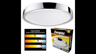 Energizer IP44 LED Bathroom Light Review