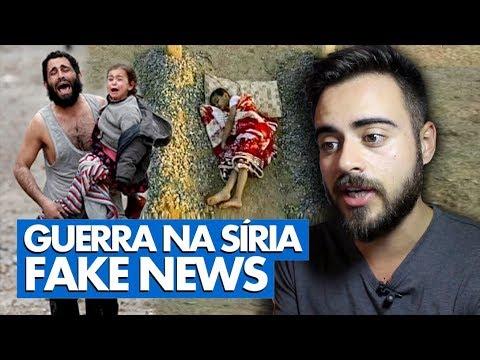 VOCÊ ACREDITOU? NOTÍCIAS FALSAS SOBRE A GUERRA NA SÍRIA