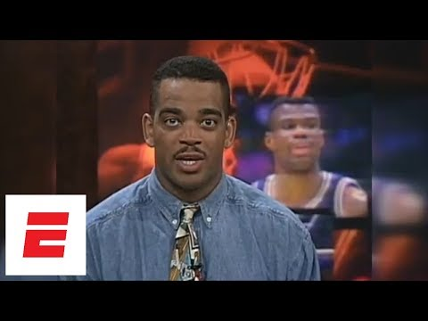 Stuart Scott reads 1994 highlight of David Robinson winning NBA scoring title  ESPN Archives