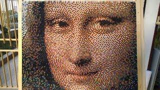 The Mona Lisa In Origami 3d Emilio, La Gioconda