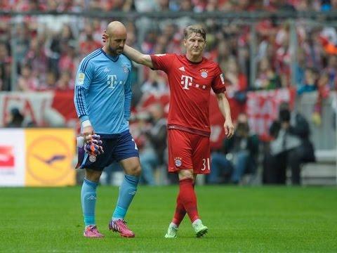 Bayern Munich vs Augsburg 0-1 Goals and Highlights 09/05/2015